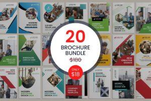 ۲۰-Bi-fold-Brochure-Template-Bundle