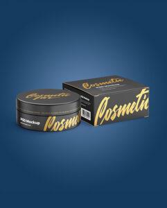 Box-with-Cosmetic-Jar-Mockup
